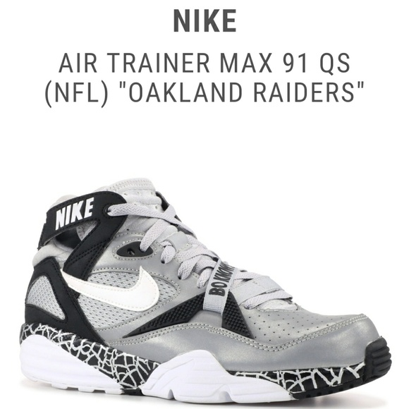 timeless design 7fb39 fd50b Nike Air Trainer Max 91 Bo Jackson Oakland Raiders
